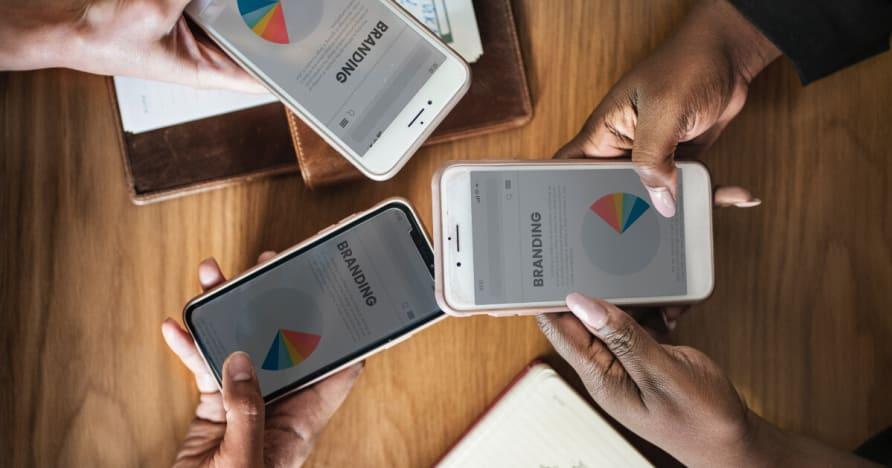 Hraní v kasinu PayPal v mobilu 2020