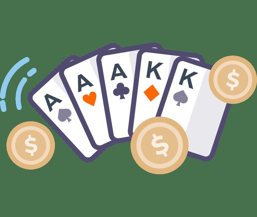 Hrajte Poker Online -Top 53 nejvýše platící Mobilní Casinos 2021