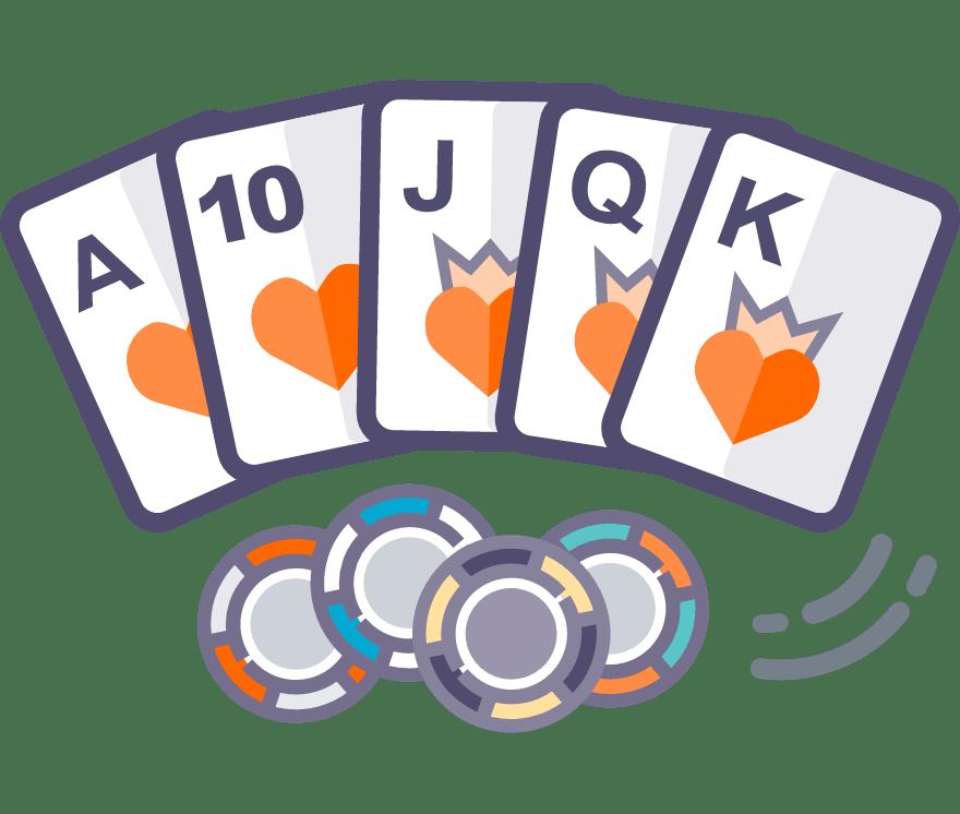 Hrajte Texas Holdem Online -Top 32 nejvýše platící Mobilní Casinos 2021