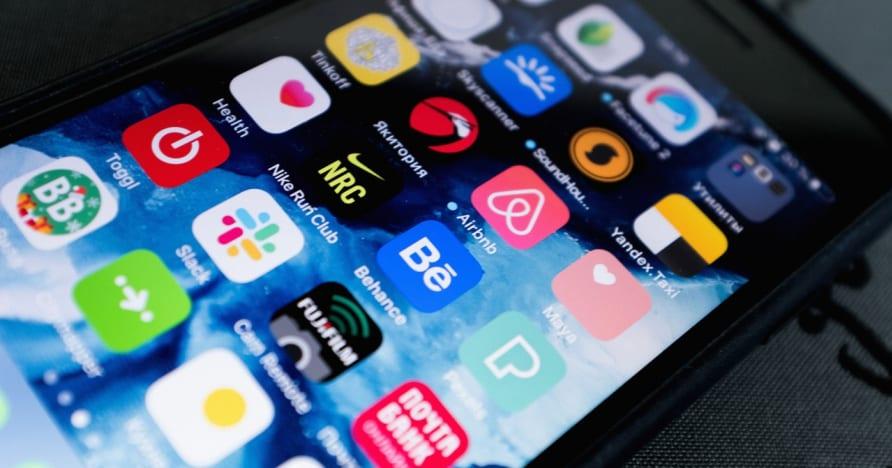Výběr aplikace pro mobilní hazard