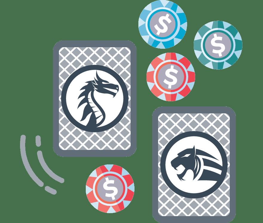 Hrajte Dragon Tiger Online -Top 25 nejvýše platící Mobilní Casinos 2021